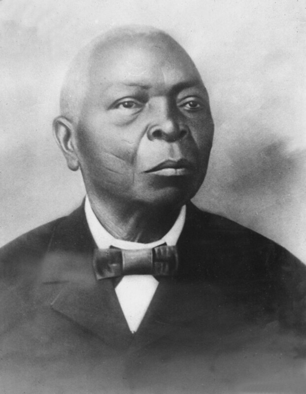 """Ño Remigio Herrera Adeshina Obara Meyi (1811/1816 – 1905) was a babalawo (Yoruba priest) recognized for being, along with his mentor Carlos Adé Ño Bí (birth name, Corona), the main successor of the religious system of Ifá in Cuba.  Ño Remigio Herrera was perhaps the most famous surviving African in Cuba in the nineteenth century. Some argue that he was from Ijesha due to his Lucumí classification of """"Idessa,"""" which was an ethnonym recorde around the time of this photograph late in his life i. However, his ethnic markings are more likely Oyo, meaning he was almost certainly not Ijesha. In 1830, Dahomey sacked the town of Idasa Agnessignon to the west of Oyo in Mahi territory. Idasa were a remote tributary Yoruba sub-group loyal to Oyo. In Cuba, Adeshina likely arrived to Cuba in 1830 via a ship leaving Ouidah or Little Popo; and he went to Matanzas and then Havana, where he obtained his freedom and founded the famous Cabildo of the Virgin de Regla in the neighbourhood of Regla.  This photograph was taken in 1891.  See https://en.wikipedia.org/wiki/Remigio_Herrera"""